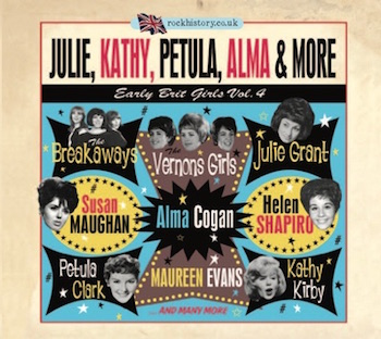 V.A. - Julie ,Kathy ,Petula ,Alma & More : Early Brit Girls Vol4